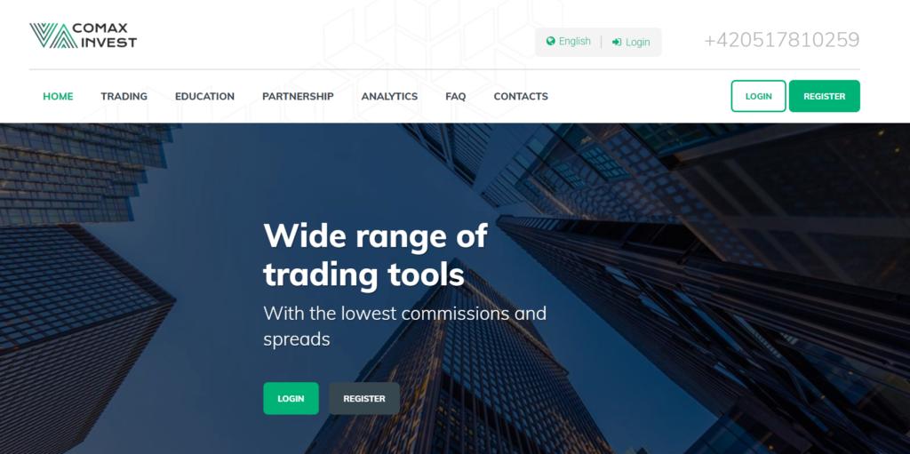 Comax Invest сайт