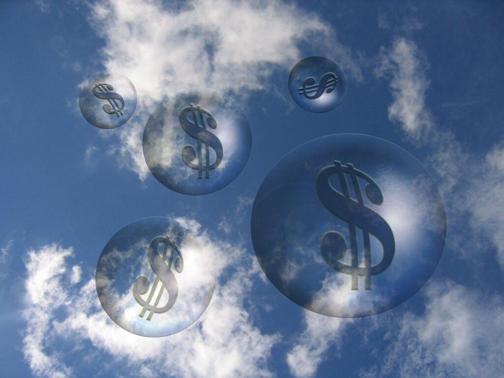 биржа пузырь